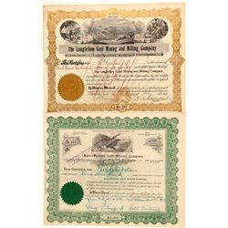 Two Douglas County, Nevada Mining Stocks  (101608)