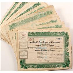 Goldfield Development Co. Stock Certificate Archive  (67068)