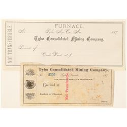 Pair of Tybo Consolidated Receipts  (99973)