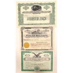 Three Different White Pine County, NV Mining Stocks  (102189)