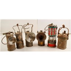 Carbide Lamps (6)  (87348)