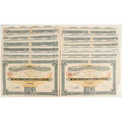 Charbonnages de Millau Bond Certificates  (81802)