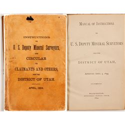 Instructions for US Deputy Mineral Surveyors Book  (80857)