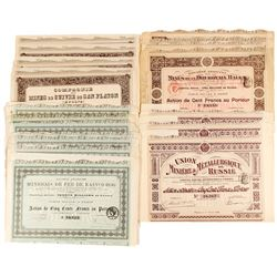 Russian and Baltic Mining Company Bond Certificates  (81821)