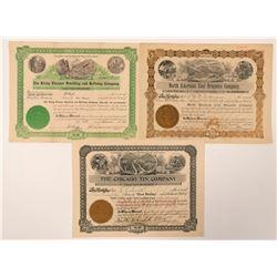 Three Mining Related Stocks  (101405)