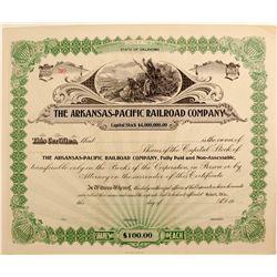 Arkansas - Pacific Railroad Company  (82206)