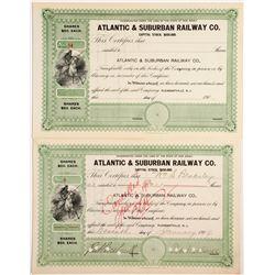 Atlantic & Suburban Railway Company  (81825)