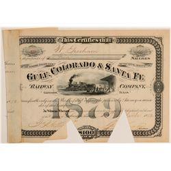 Gulf, Colorado & Santa Fe Railway Co.  (104817)