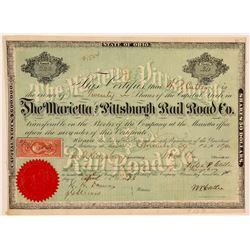Marietta and Pittsburgh Rail Road Co.  (101385)