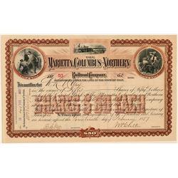 Marietta, Columbus and Northern Railroad Co.  (101383)