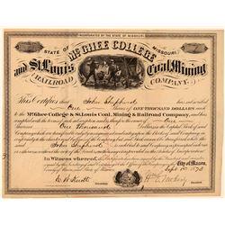 McGhee College & St. Louis Coal, Mining & Railroad Co.  (101387)