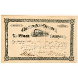 Meridan and Cromwell Railroad Co.  (101380)