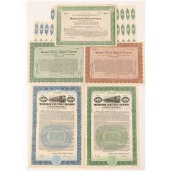 Michigan Electric Railway Co.  stock/bonds  (101352)