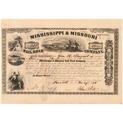 Mississippi & Missouri Railroad Co.  (101336)