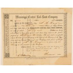 Mississippi Central Rail-Road Co  (101338)