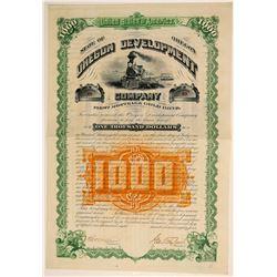 Oregon Development Company Bond  (91953)