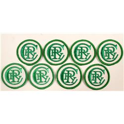 Patches / Copper River & Northwestern Railway / 8 Items.  (102112)