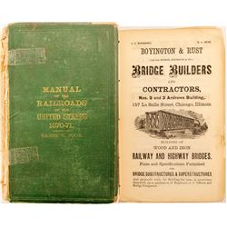 Poor's Manual of Railroads Of the US 1870-71  (52207)
