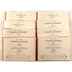 Railroad History Books, Pullman Standard Library, Passengar Car Library  (49925)