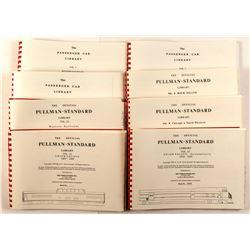 Railroad History Books, Pullman Standard Library, Passengar Car Library  (49925)