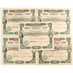 Railroad Lands Company Stock Certificates  (81064)