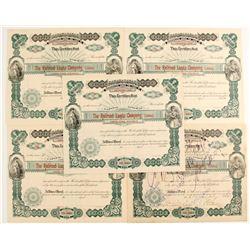 Railroad Lands Company Stock Certificates  (81064)