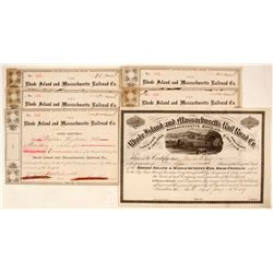Rhode Island and Massachusetts Railroad Company Stock Certificates  (81049)