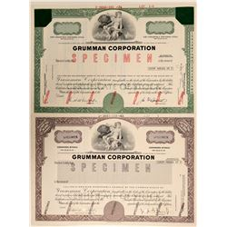 Grumman Corporation Specimen Stock Certificates  (102552)