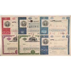 Ling-Temco-Vought, Inc. (LTV) Stock Certificates  (102587)
