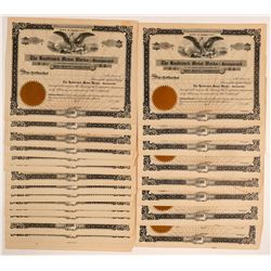 Hasbrouck Motor Works, Inc. Stock Certificate Collection  (103471)