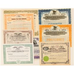 Truck Stock Certificates  (91983)