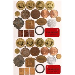 Seventeen piece token collection  (102819)