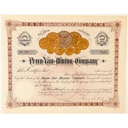 Penn Yan Mining Company stock  (100417)