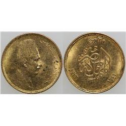 20 Piastres Egyptian Gold Coin  (101711)