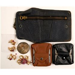 Coin Purses, Nevada Centennial  and Costume Jewelry  (91301)