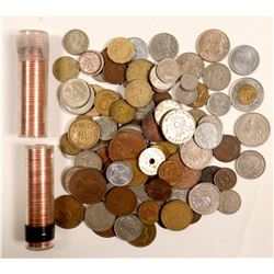 Foreign Coins / About 192 items  (102106)
