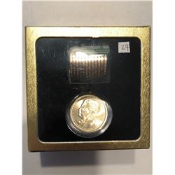 Mint Roll 13 Total Theodore Roosevelt UNC President Dollars in Original Box