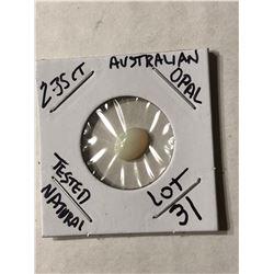 2.35 Carat Large Australian OPAL Tested Natural