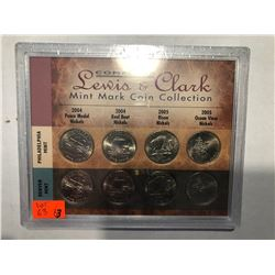 Lewis and Clark Mint Mark Coin Collection in Original Package