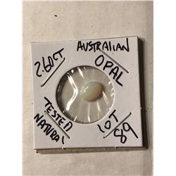 2.60 Carat Large Australian OPAL Tested Natural