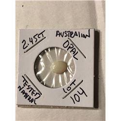 2.45 Carat Large Australian OPAL Tested Natural