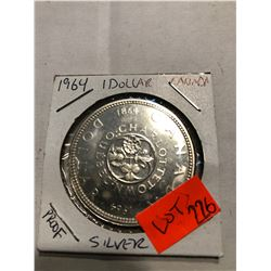 1964 Proof Silver Canda Dollar