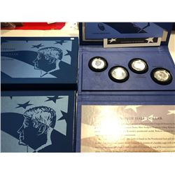 50th Anniversary Silver Kennedy Half Dollar Collection