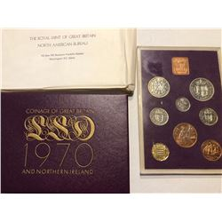 1970 Royal Great Britan Proof Set in Original Box and Package