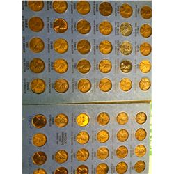 1941 Number 2 Penny Collection includes Steel WWII Cents 88 Total Coins in Book