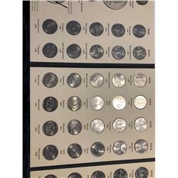Complete 1999 to 2008 Fifty State Commemorative Quarters Collention in Book 52 Total Coins