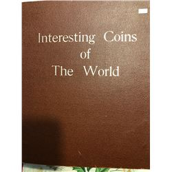 HUGE World Coin Book Filled with 320 Total World Coins