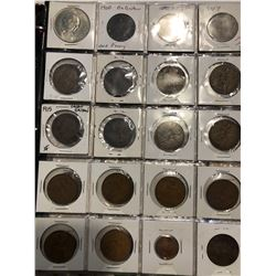 HUGE World Coin Book Filled with 259 Total World Coins