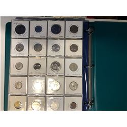 HUGE World Coin Book Filled with 180 Total World Coins