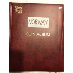 Huge Norway Coin Album Filled with more then 280 Coins